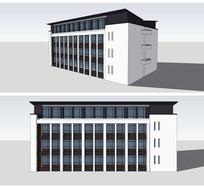 新中式风格教学实验楼