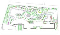 园林景观设计图cad(带植物名录)
