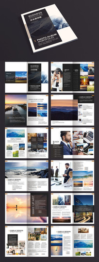 2017摄影作品画册设计