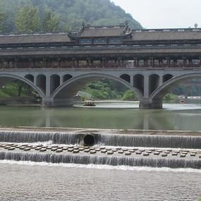 多孔风雨桥