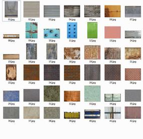多种金属贴图