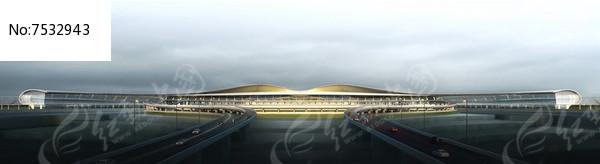 飞机场建筑jpg素材下载_建筑套图设计图片