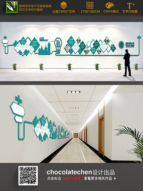 国家电网公司企业墙设计