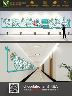 国家电网特殊造型文化墙
