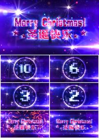 2017圣诞节倒计时开场片头