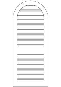 横纹木质门
