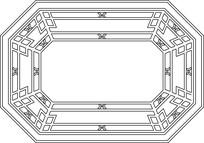 六边形中式图案