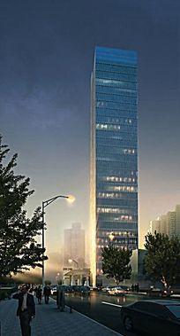 某现代超高层建筑 JPG