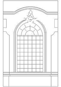 欧式窗户图块