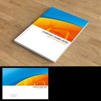企业简约画册封面设计