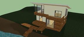 山地别墅设计模型