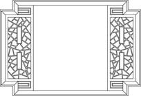 特色背景墙装饰框