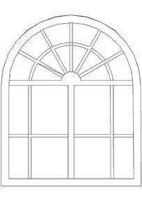 英伦田园窗户