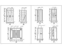 7种装饰门立面图集