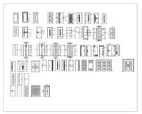 CAD大门图集