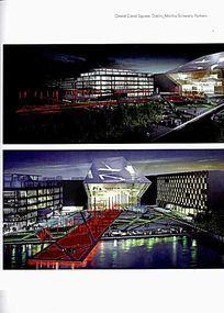 创意江景景观设计效果图