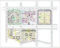 某小镇景观规划分析图