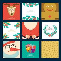 圣诞夜卡片