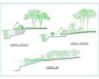 生态驳岸施工图 dwg