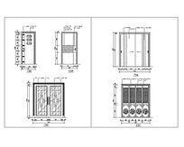 室内装饰门CAD集合