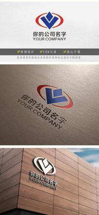 vo字母投资金融logo