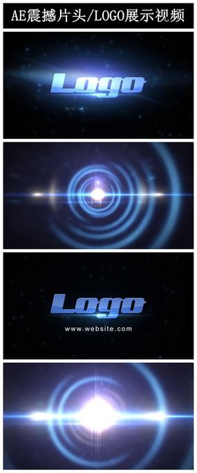 AE震撼大气片头LOGO展示视频模板