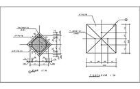灯柱顶视图CAD dwg