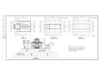 公厕建筑方案图 dwg