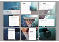 互联网金融产品宣传页版式设计