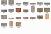 建筑木纹贴图