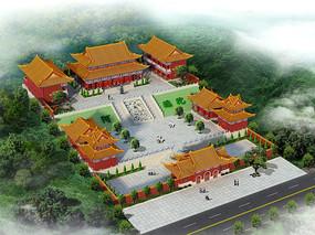 寺庙设计图