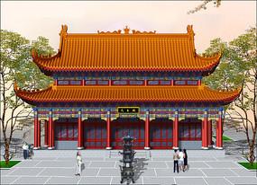 寺庙园林设计