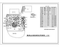 小游园环境设计平面图