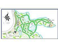 小游园景观规划图纸
