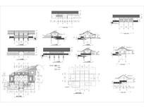 度假村餐厅茶室建筑室内设计图CAD CAD