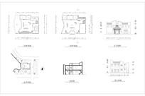 二层休闲茶室咖啡厅平面建筑方案CAD CAD