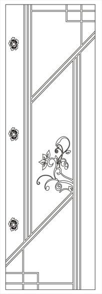 花式门图雕刻图案 CDR
