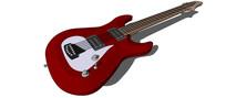 吉他手专用吉他SU模型及预览图