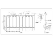 木质层压板材料栏杆