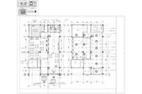 小型西餐厅平面布置图 CAD