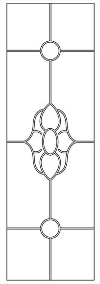 心形门图雕刻图案