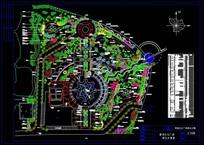 莺湖文化广场种植平面图