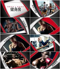 健身运动片头AE模板