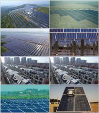 绿色环保新能源太阳能视频