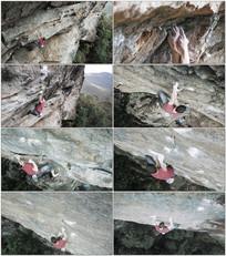 攀岩极限运动视频