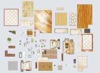 多种室内家具单体贴图psd PSD
