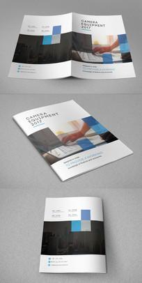 方块企业画册封面