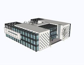 公建平地档案馆现代新中式多层高层