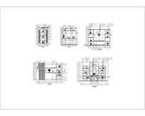 简单酒柜CAD模型