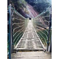 简易木吊桥
